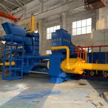 High-end Steel Metal Sweepings Horizontal Birquette Press