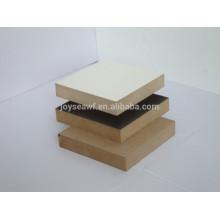 Mdf brut / mdf panel / melamine mdf pour meubles
