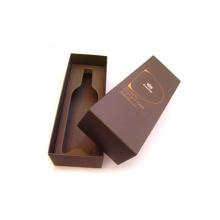 Caja de regalo rígida hecha a mano premium de alta gama de vinos