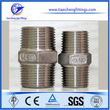 Metric 10mm Stainless Steel Pipe Hexagon Nipple