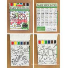 crianças personalizadas para colorir livros para crianças com lápis de cor