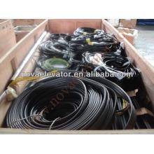 24 * 0.75 Cable de viaje plano del elevador, cable de control del elevador VVVF