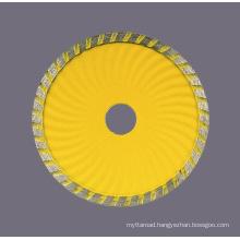 Sintered Diamond Disc with Turbo Wave Saw Blade