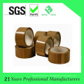 Cinta de embalaje OPP marrón para sellado de caja resistente