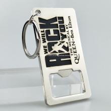 Персонализированная открывалка для бутылок с сублимационной пустой цепочкой для ключей