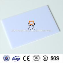 feuille de polycarbonate à diffusion givrée