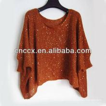 13STC5500 nouveau design dames tricot poncho