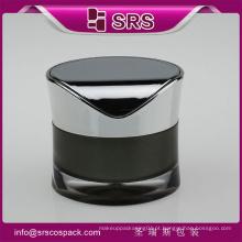 Hot Sell Acrílico Natureza Cosméticos Amostra embalagem Creme Jar Fabricante