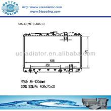 Auto Kühler für MITSUBISHI GALANT 89-93 2.0L L4 AT OEM: MB356555 MB356556 MB660472