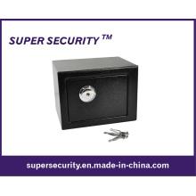 Caja de seguridad de dinero en efectivo / caja fuerte clave de seguridad para el hogar (STB0609)