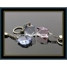 Faceted Crystal Keychain for Promotion Gift (kc10)