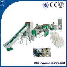 Máquina de reciclaje de plástico de residuos de Ce