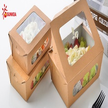 China Manufacturer for Best Paper Boxes,Packing Boxes,Gift Paper Box,Printed Carton Box Manufacturer in China Fast Food Box Packaging with Antifogging Window export to Ghana Manufacturers