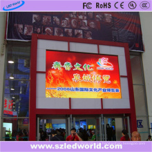 Pantalla de LED RGB exterior Pantalla P6 Instalación fija Montaje de pared