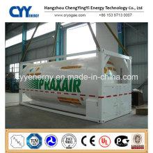 2015 High Quality and Low Price Liquid Oxygen Nitrogen Argon Fuel Storage Tank Container
