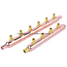 Tubulação de cobre para o condicionador de ar central
