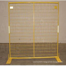 Galvanized/ PVC painted welding temporary fencing