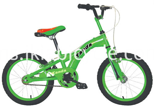 Colorful Kids Bike with Support Wheel