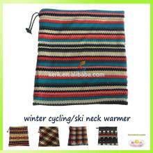 Bandana tubular de uso múltiplo para o inverno desgaste, pescoço de malha pescoço tricotado