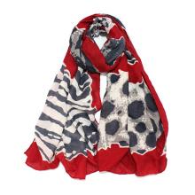 Foulard léger à imprimé léopard à imprimé léopard pour femme (SW101)