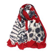 Womens Lightweight Leopard Fashion Print Shawl Wrap Scarf (SW101)