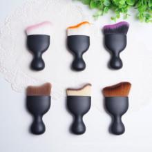 2016 le Single Kit mat noir maquillage polyvalent Mini brosse