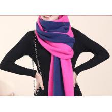 Günstige Einfarbig Polyester Voile Fashion Lady Schal / Schals (K-27)