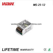 Driver do diodo emissor de luz do anúncio de MS-25 SMPS 25W 12V 2A