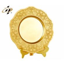 custom metal made logo handbags souvenir plate
