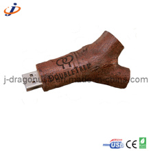 Eco-Friendly Natural Wood Branch USB Flash Drive (JW149)