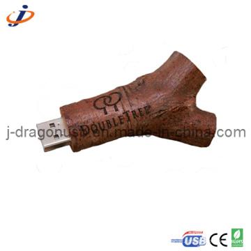 Eco-Friendly madeira natural Branch USB Flash Drive (JW149)