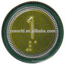 B13P4 peças do elevador botão de pressão / elevador botão de pressão / botão de elevador kone