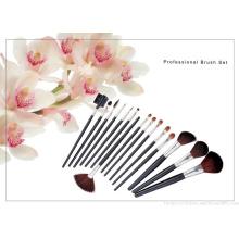 32piece professionnel chaud cheveux synthétiques rose maquillage pinceau usine en gros