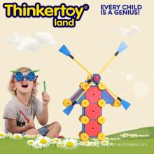 Windmill Puzzle Foam Building Block Toy for Kindergarten