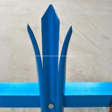 Forma de W em pó revestido de Euro Palisade Fence