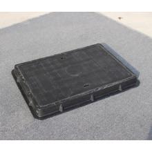 Couverture de trou d'homme noir composite 400 * 600 * 40mm