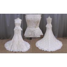 Strapless Sweetheart sirène robe de mariée 2016 vente en gros Design