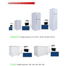 2016 Горячий 12V DC Солнечный Холодильник 282L