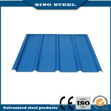 Galvanizado colorido Shee de acero corrugado para la venta con el mejor precio