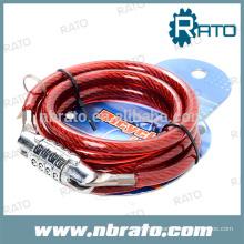 RBL-111 mountain bike combination wire lock