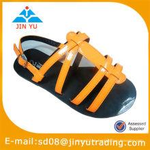 Zapatos de cuero de la sandalia de los niños