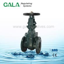 Запорный клапан с фланцем из нержавеющей стали BS / MSS, выполненный из фарфора с ручным выдвижным штоковым клапаном