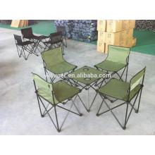 2015 Conjuntos de camping, mesa e cadeira com saco de transporte