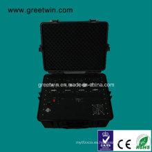 Alta potencia portátil DDS Jammer / Multi-Band bloqueador de teléfonos celulares / Jammer Pelican (GW-VIP JAM5)