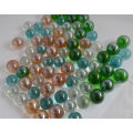 playing toy glass marbles for children