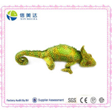 Educational Custom Plush Lifelike Chameleon Toy