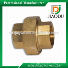 competitive price hot sale customized forged npt female threaded brass pipe fittings union connector