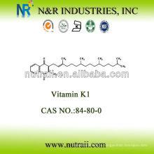 Качественный Хороший порошок витамина К1 20% CAS # 84-80-0