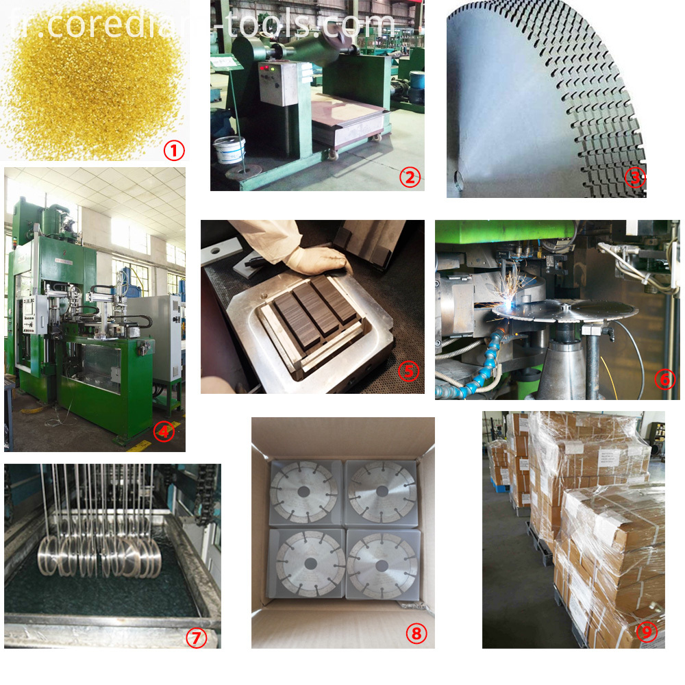 laser welded production process