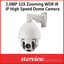 2.0MP 32X Zooming IP IR Waterproof Network PTZ Dome Camera